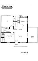 Woodsman 2 Bedroom Flat Apartment in Grey Tennessee